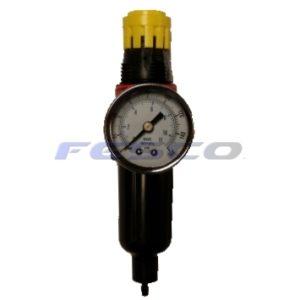 1/4 Filter/Reg w/Aluminum Bowl & Autodrain - 3260-033