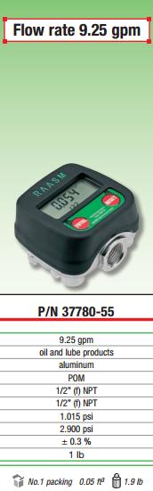 Electronic Meter 37780-55