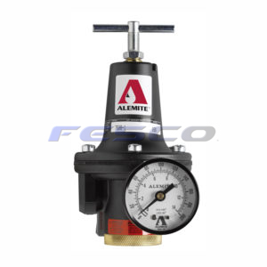 Alemite 7608-B Air Regulator w/Gauge