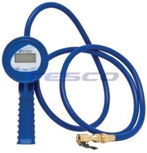 Haltec Digital Inflation Gauge with 4 inch hose