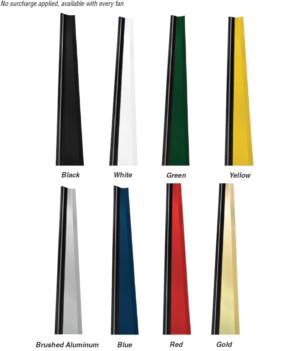 Windstorm HVLS Fan Colors