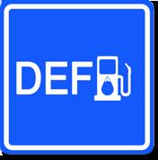 DEF (Diesel exhaust fluid)