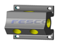 Aluminum FPT 4 Port Manifold
