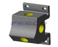 Aluminum FPT 3 Port Manifold